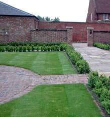 Image: Lawn care,  mowed and weeded by Gardener Luke Harrison, serving Derby, Etwall, Bretby, Repton, Hilton and Burton areas.